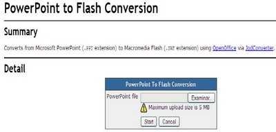 POWERPOINT A FLASH