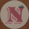 MAGPIE coaster letter N